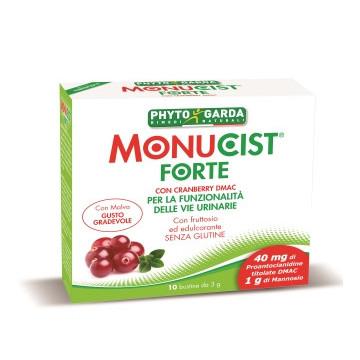 MONUCIST FORTE INTEGRATORE DRENANTE E VIE URINARIE 10 BUSTINE