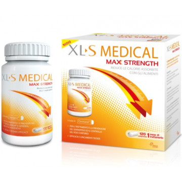 XLS MEDICAL MAXSTRENGTH120CP