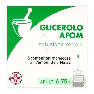 GLICEROLO AFOM AD 6CONT6,75G