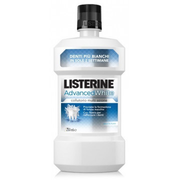 LISTERINE ADVANCE WHITE250ML