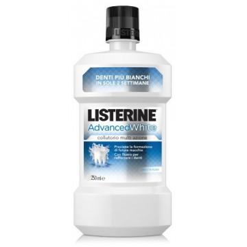 LISTERINE ADVANCE WHITE250ML