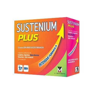 SUSTENIUM PLUS INTEGRATORE ENERGIZZANTE CON CREATINA 12 BUSTINE