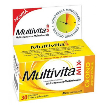 MULTIVITAMIX CRONO 30 COMPRESSE MULTISTRATO