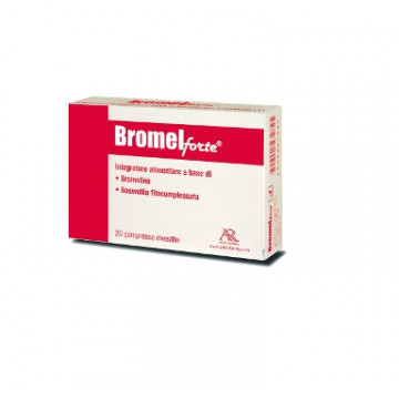 BROMEL FORTE INTEGRATORE SISTEMA OSTEOARTICOLARE 20 COMPRESSE