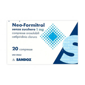 NEOFORMITROL 20CPR OROSOLS/Z