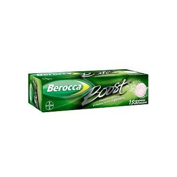 BEROCCA BOOST 15CPR EFFERV