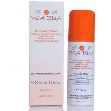 VEA BUA SPRAY OLIO BASE CUTE SENSIBILE E ARROSSATA 50 ML