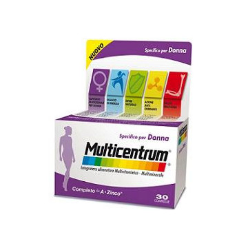 MULTICENTRUM DONNA 30 Ccompresse
