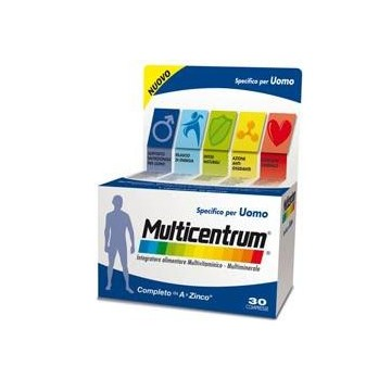 MULTICENTRUM UOMO 30 COMPRESSE - INTEGRATORE MULTIVITAMICO