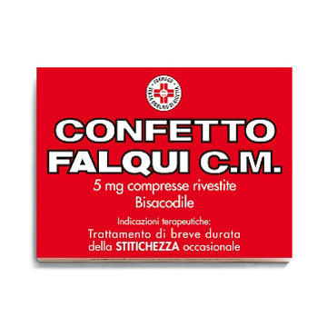 CONFETTO FALQUI CM 20 COMPRESSE 5MG