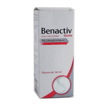 BENACTIV GOLA COLLUT160ML2,5