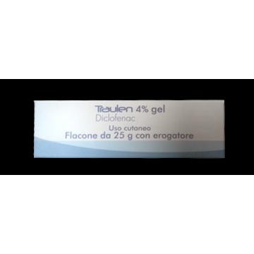 TRAULEN GEL FL 25G 4% C/EROG