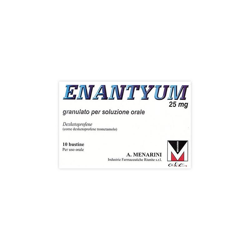 ENANTYUM 10BUST OS GRAT 25MG
