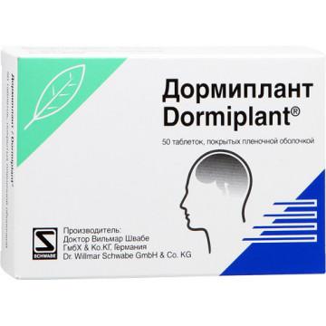 DORMIPLANT 50CPRRIV160MG+80M