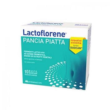 LACTOFLORENE PANCIA PIATTA 10 BUSTINE GONFIORE ADDOMINALE E DIGESTIONE