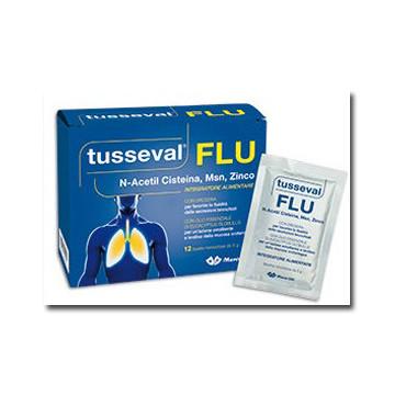 TUSSEVAL FLU 12 BUSTINESOLUB