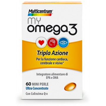 MULTICENTRUM MY OMEGA 3 DA 60 PERLE