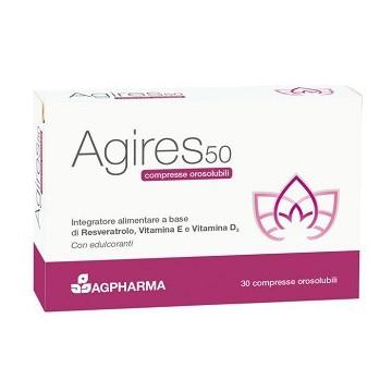 AGIRES 50 INTEGRATORE PER LA MENOPAUSA 30 COMPRESSE OROSOLUBILI
