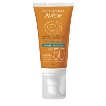 AVENE CLEANANCE SOLARE SPF 50+ 50 ML PROTEZIONE MOLTO ALTA PER PELLE SENSIBILE DEL VISO