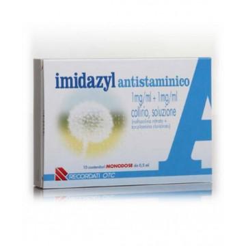 IMIDAZYL ANTISTAMINICO COLLIRIO 10 FLACONCINI 0,5 ML