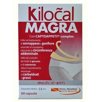 KILOCAL MAGRA 60 COMPRESSE INTEGRATORE SAZIANTE E DIMAGRANTE