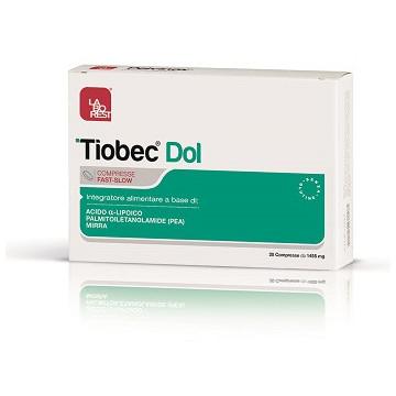 TIOBEC DOL LABOREST 20 COMPRESSE