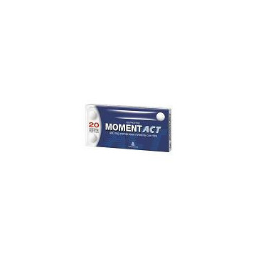 MOMENTACT 20 COMPRESSE RIVESTITE CON FILM 400 MG