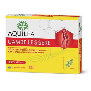 AQUILEA GAMBE LEGGERE INTEGRATORE ALIMENTARE MICROCIRCOLO 20 COMPRESSE