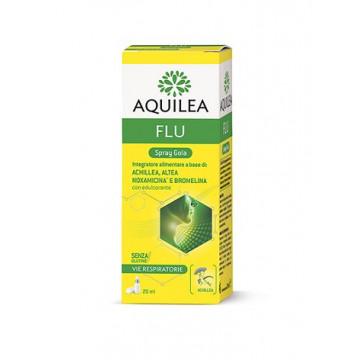 AQUILEA FLU SPRAY GOLA INTEGRATORE ALIMENTARE VIE RESPIRATORIE 20 ML