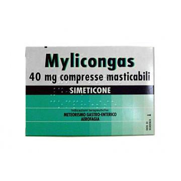 MYLICONGAS TRATTAMENTO METEORISMO GASTRO-ENTERICO 50 COMPRESSE 40 MG