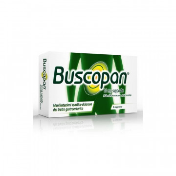 BUSCOPAN 6SUPP 10MG