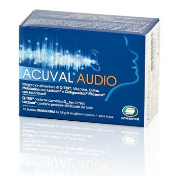 ACUVAL AUDIO INTEGRATORE 14 BUSTINE 1,8G OS