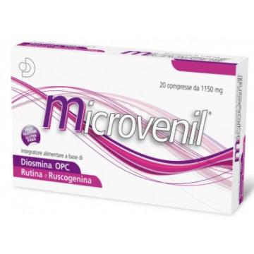 MICROVENIL INTEGRATORE FUNZIONALITÀ MICROCIRCOLO 30 COMPRESSE 1150 MG