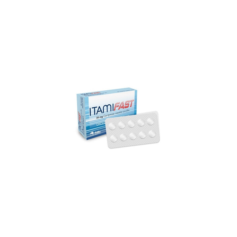 ITAMIFAST 10CPR RIV 25MG