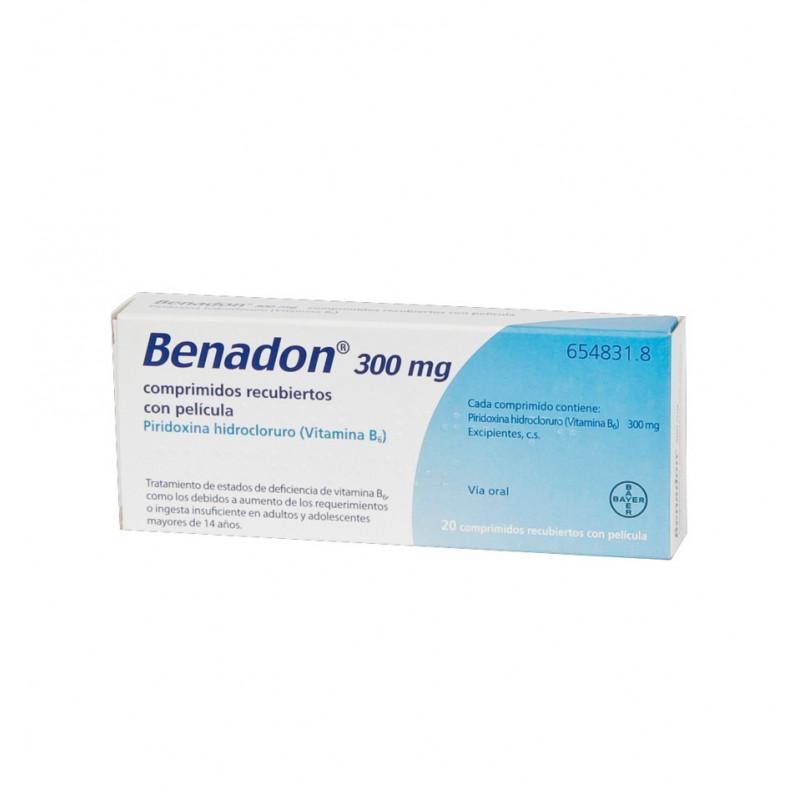 BENADON 10CPR GASTRORES300MG