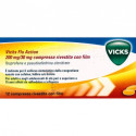 VICKS FLU ACTION RAFFREDDORE E INFLUENZA 12 COMPRESSE 200 MG/ 30 MG