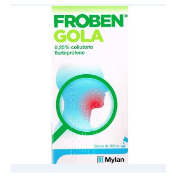 FROBEN GOLA COLLUT160ML0,25%
