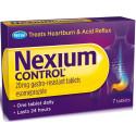 NEXIUM CONTROL 7CPRGASTR20MG