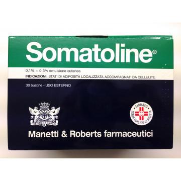 SOMATOLINE EMULSIONE CUTANEA 0,1% + 0,3% ANTICELLULITE 30 BUSTINE