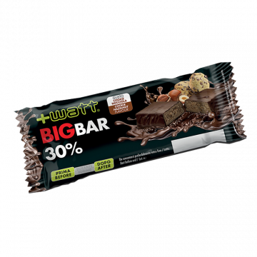 +WATT THE BIG BAR BARRETTA PROTEICA AL 30% GUSTO COOKIE NOCCIOLA 80 G