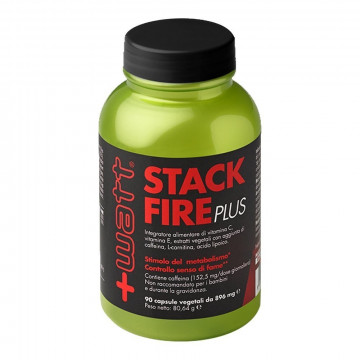 +WATT STACK FIRE PLUS INTEGRATORE CONTROLLO PESO 90 CAPSULE