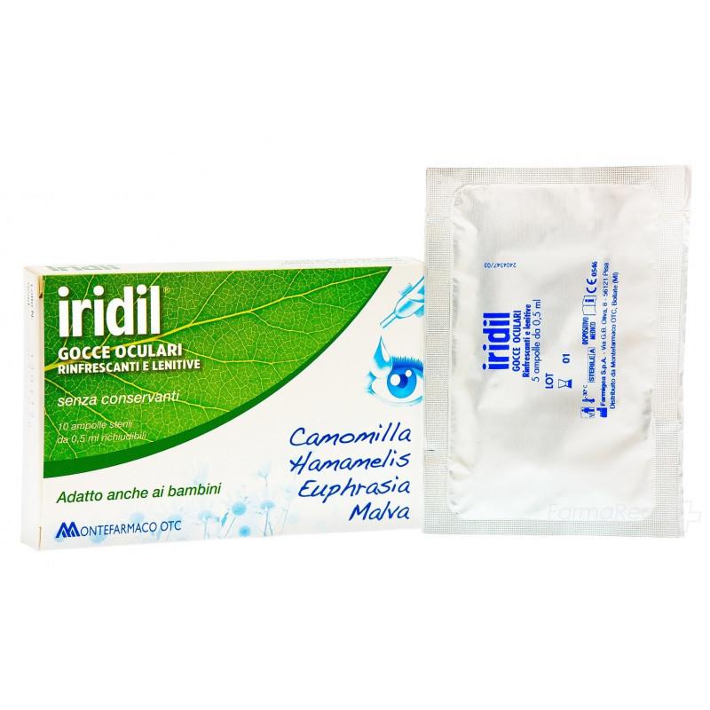 IRIDIL GOCCE OCUL 10AMPMONOD
