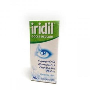 IRIDIL GOCCE OCULARI FLACONE 10 ML RINFRESCANTI E LENITIVE