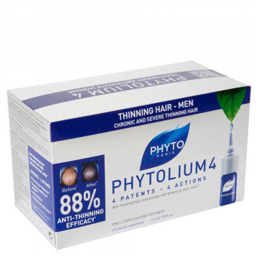Phyto Phytolium 4 trattamento anti-caduta capelli uomo fiale 12 X 3,5 ml