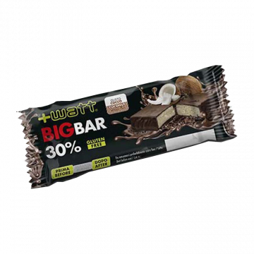 +WATT THE BIG BAR COCCO BARRETTA PROTEICA 30% 80 GRAMMI