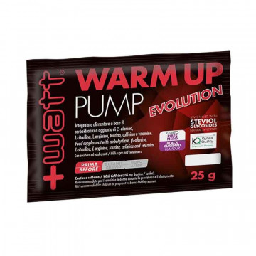 +WATT WARM UP PUMP EVOLUTION INTEGRATORE ALIMENTARE 25 GRAMMI