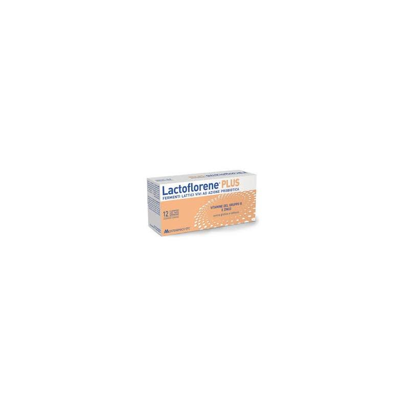 LACTOFLORENE PLUS 12 FLACONCINI FERMENTI LATTICI CON VITAMINE B