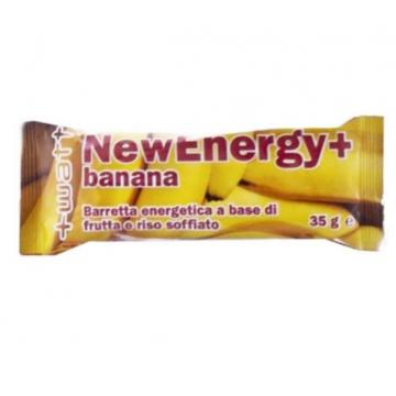+WATT NEW ENERGY+ BARRETTA ENERGETICA 35 GRAMMI GUSTO BANANA