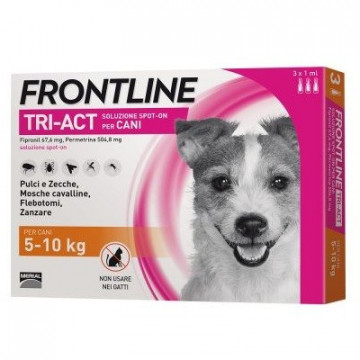 FRONTLINE TRI-ACTIVE 3 PIPETTE 2 ML