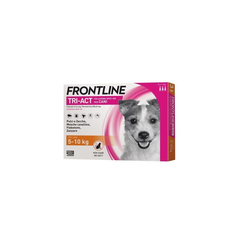 FRONTLINE TRI-ACTIVE 3 PIPETTE 2 ML